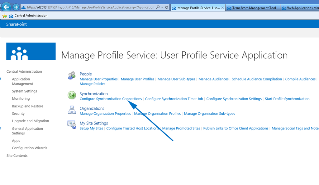 what is user profile synchronization service in sharepoint 2013