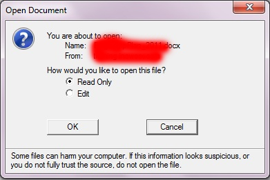 word 2016 sharepoint read only