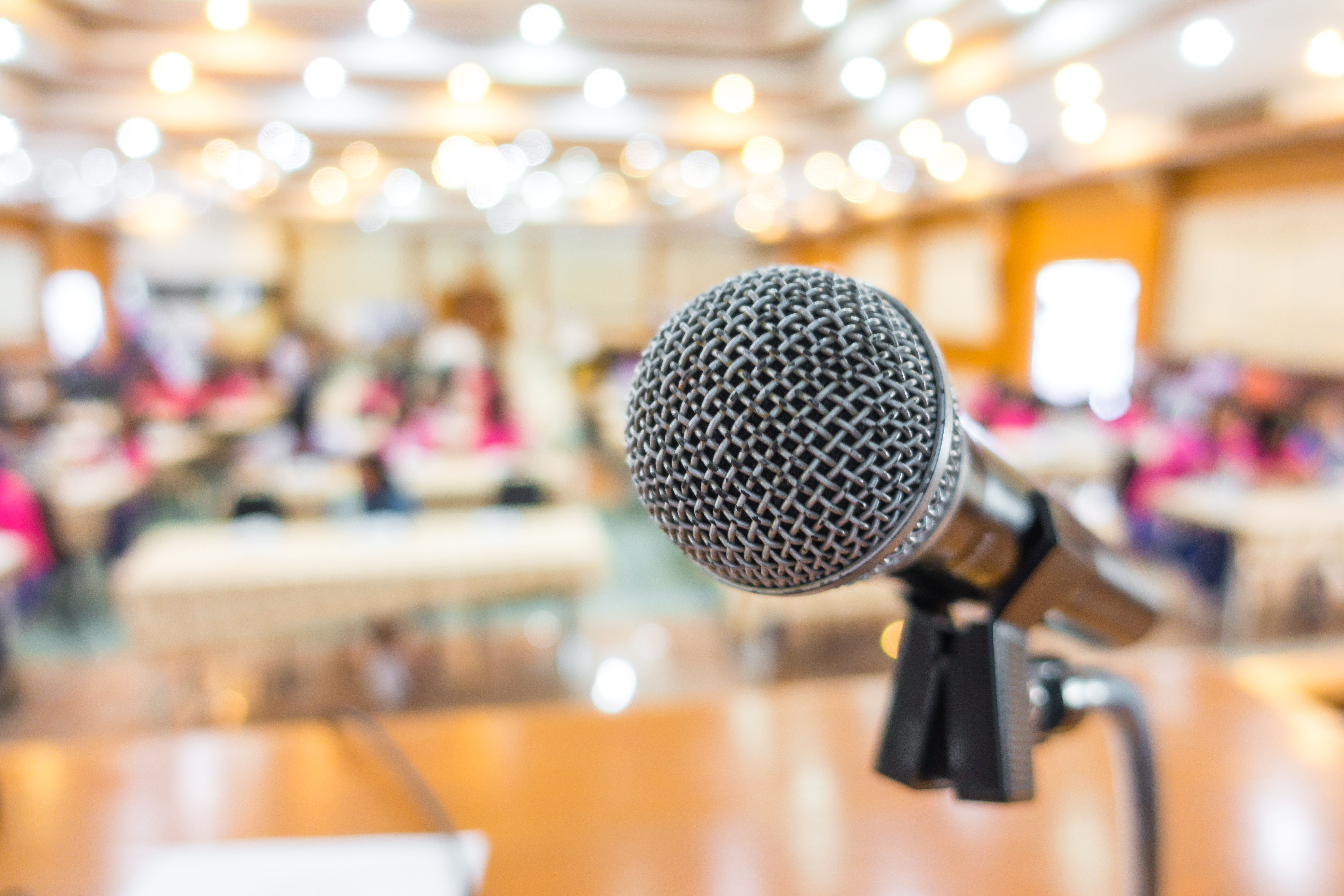 How to land a speaking gig at a [good] conference